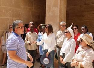 """بالصور  مشاهد من افتتاح وزير الآثار لمقبرة """"ميحو"""" لأول مرة للجمهور"""