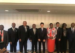 سامح شكري يلتقي نائب أمين عام مجلس الوزراء الياباني