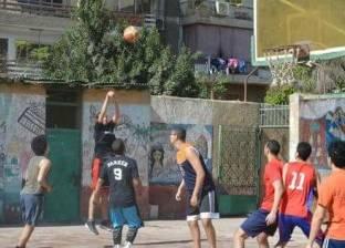 """""""تعليم القاهرة"""" تجري تصفيات اختيار فريق كرة السلة للمرحلة الثانوية"""