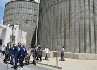 """""""التجارة الداخلية"""" وهيئة التنمية الإيطالية يبحثان إنشاء 15 صومعة للقمح"""