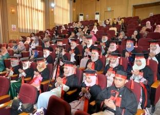 """بالصور  جامعة المنصورة تحتفل بتخرج دفعة """"طب أسنان"""" للطلاب الماليزيين"""
