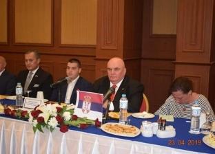"""رئيس """"الوفد الصربي"""" يهنئ المصريين بنجاح عملية الاستفتاء على الدستور"""