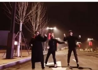 بمهرجان بنت الجيران.. مصري يتحدى كورونا ويرقص بمدينة ووهان الصينية