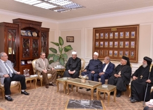 """وزير الأوقاف يلتقي """"رجال الدعوة الإسلامية وقيادات الكنائس"""" في أسيوط"""