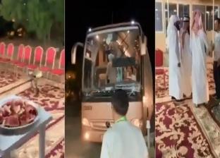 سعودي يفتح أبواب مزرعته لاستضافة 100 حاج روسي