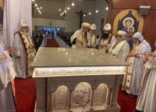 أسقف «شبرا الخيمة» يتعهد برعاية أسرة «قاتل الكاهن»
