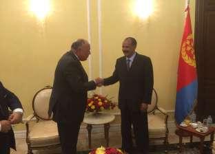رئيس إريتريا يؤكد دور مصر المحوري في منطقة القرن الإفريقي