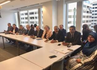 """وفد """"الخطة"""" يناقش استراتيجيات الاتصال مع مسؤولي شراكة الموازنة الدولية"""