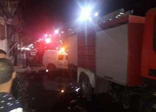 السيطرة على حريق في مستشفى التأمين الصحي في مدينة نصر