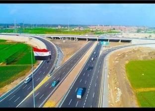 """""""شينخوا"""": المشروع القومي للطرق يحسن ترتيب مصر في التصنيف العالمي"""