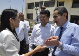 """جامعة قناة السويس ومعهد """"تزكى"""" الإندونيسي يبحثان التعاون المشترك"""
