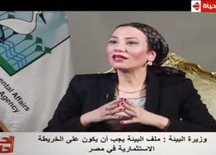 ياسمين فؤاد: ملف البيئة يجب أن يكون على الخريطة الاستثمارية لمصر