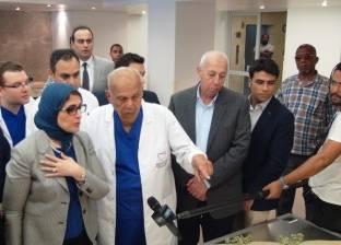 وزيرة الصحة تتفقد مركز مجدي يعقوب لعلاج القلب في أسوان