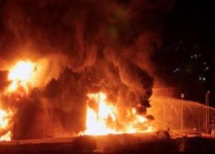 انفجار خط وقود يمد محافظات الصعيد بصحراوي المنيا