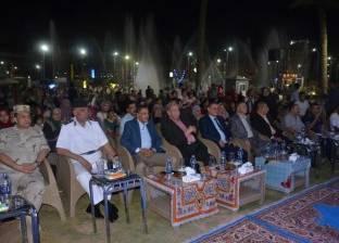 محافظ الإسماعيلية ومدير الأمن يشهدان احتفالية ذكرى ثورة 30 يونيو