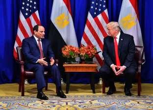 غدا.. السيسي يلتقي ترامب لمناقشة القضايا ذات الاهتمام المشترك