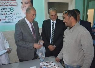 """""""عبد الله"""" يوزع أول جرعة من علاج """"فيروس سي"""" على المرضى في البحر الأحمر"""