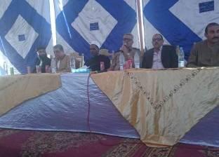 جلسة صلح تنهي خلافات ثأرية بين عائلتين في قرية ريدة بالمنيا