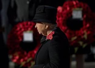 بالصور| الملكة إليزابيث تقود مراسم تكريم ضحايا الحرب العالمية الأولى