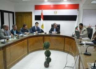 """الأنصاري يستقبل أعضاء الاتحاد العام لـ""""شباب سوهاج"""""""