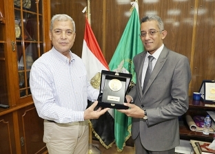 محافظ المنوفية يستقبل رئيس مركز المعلومات بمجلس الوزراء