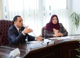 """رئيس جامعة دمنهور يشهد ندوة """"مستقبل التكنولوجيا الحيوية في مصر"""""""