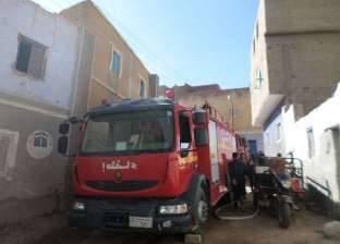 إصابة 3 مواطنين في حريق أثناء تفريغ أسطوانة بوتاجاز في الفيوم