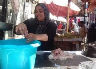 «مهرجان اللحمة» فى الجيزة: الجزارون يشعلون الأجواء بالـ«دى جى».. والزبائن يبحثون عن خصومات