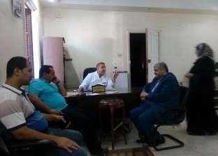 رئيس مدينة المحلة يتفقد مستشفى الصدر ويوجه بصيانة أعطال ديزل الكهرباء