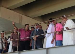 بالصور| محافظ كفر الشيخ يتفقد قسم شرطة المسطحات المائية في البرلس