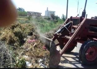 رفع 22 طن مخلفات في أبوتشت بقنا
