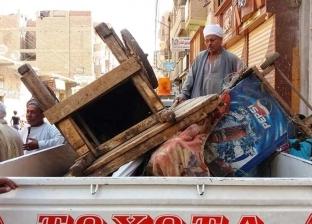 """تحرير 428 محضرا في حملة مرافق مكبرة بـ""""جهينة"""" في سوهاج"""