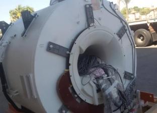 بالصور| إمداد مستشفى طور سيناء العام بجهاز أشعة الرنين المغناطيسي