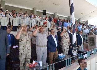بالصور| محافظة سوهاج تحتفل بالذكرى الـ45 لانتصارات أكتوبر