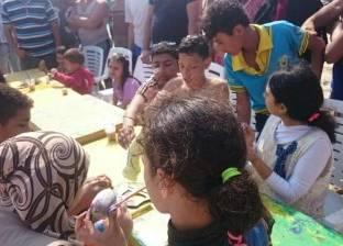 هيئة تنشيط السياحة تنظم احتفالا بمناسبة شم النسيم برأس البر