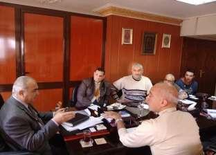 """رئيس """"النقل النهري"""" يجتمع مع رئيس شعبة المساحة لتطوير المجرى الملاحي"""