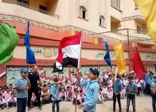 """انطلاق فعاليات """"افرحي يا أم الشهيد"""" بمدرسة الشهيد محمد رشوان في المحلة"""