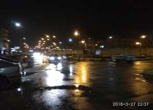 عاجل  سقوط أمطار خفيفة ومتوسطة على القاهرة الكبرى