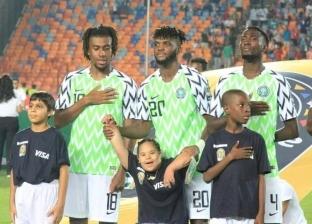 ملائكة على أرض الملعب.. أطفال متلازمة داون بصحبة لاعبي بطولة أفريقيا