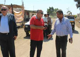 سكرتير عام المنيا يتفقد القطاعات الخدمية في مطاي
