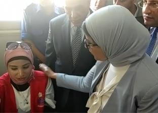وزيرة الصحة تراجع الخطة التنفيذية لمبادرة الرئيس مع محافظ بورسعيد