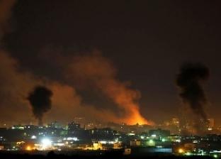 طائرات الاحتلال الإسرائيلي تشن سلسلة غارات على قطاع غزة الفلسطيني