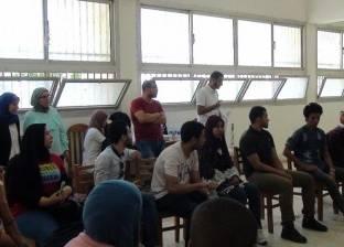 ورش عمل لتدريب فرق المسرح بجامعة المنيا
