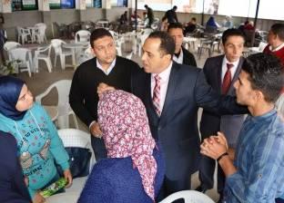 رئيس جامعة دمنهور يتفقد أعمال الإنشاءات الجديدة بالمجمعين العلمي والنظري
