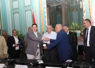 """جامعة عين شمس تحصل على شهادتي """"أيزو"""" في الجودة والإدارة البيئية"""
