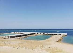 """محافظ البحر الأحمر يبحث مع قائد الأسطول البحري تطوير ميناء """"أبو رماد"""""""