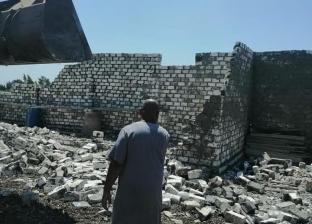 حملة لإزالة التعديات على الأراضي الزراعية وأملاك الدولة بكفر الشيخ