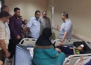 إصابة 3 أطفال بضيق في التنفس إثر تسرب غاز بمنزل في سوهاج