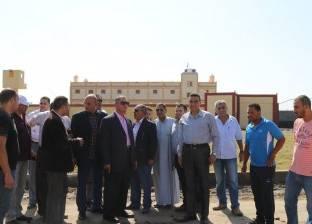 """محافظ كفر الشيخ: 3 """"كراكات"""" لتعميق بوغاز البرلس وحمايته من الانهيار"""