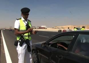 سحب 310 رخص قيادة سيارة في حملة مرورية بالقاهرة
